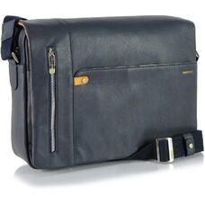 Мужская деловая сумка из натуральной кожи Acciaio Touch 2312B
