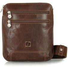 Мужская деловая сумка из натуральной кожи Adpel Prestige 5103C
