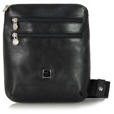 Мужская деловая сумка из натуральной кожи Adpel Prestige 5103N