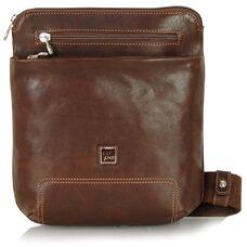 Мужская сумка через плечо из натуральной кожи Adpel Prestige 5104С