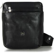 Мужская сумка через плечо из натуральной кожи Adpel Prestige 5104N