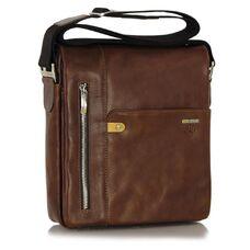 Мужская сумка через плечо из натуральной кожи Adpel Prestige 5114С