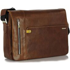 Мужской деловой портфель из натуральной кожи Adpel Prestige 5115C